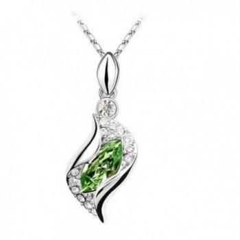 Susenstone Necklace Pendant Earrings Bracelet in Women's Anklets