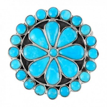 Sterling Silver Genuine Turquoise Sizes