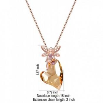 XZP Pendant Necklace Princess Swarovski
