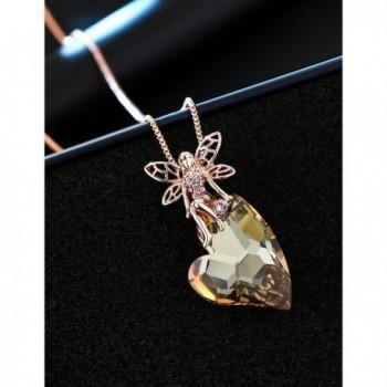 XZP Pendant Necklace Princess Swarovski in Women's Pendants