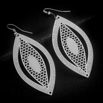 Fashion Novelty Earrings Hollow Shapes