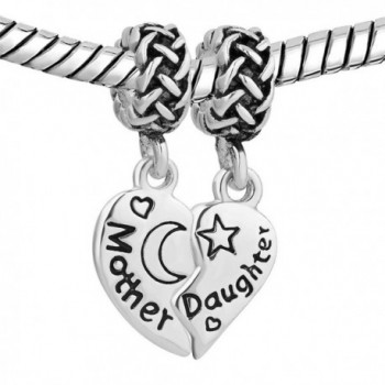 LovelyJewelry Sterling Silver Daughter Bracelet