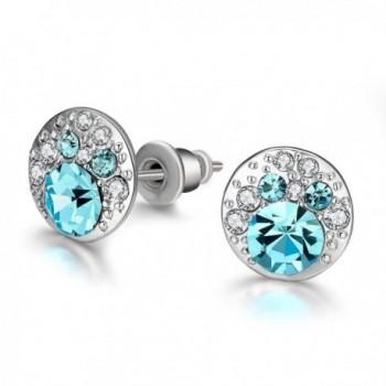 Fashion Luxurious Avoid Allergies Crytal Earrings - CS12H6OLPI5