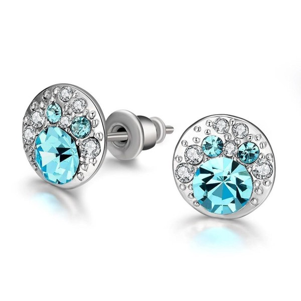 Fashion Luxurious Avoid Allergies Crytal Earrings - CS12H6OLPI5