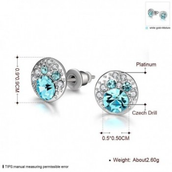 Hen night Luxurious Allergies Platinum Earrings