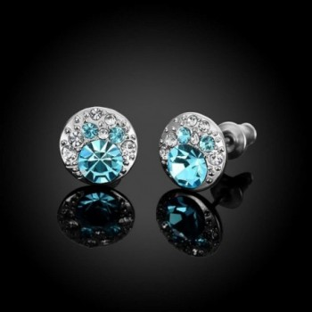 Hen night Luxurious Allergies Platinum Earrings in Women's Stud Earrings