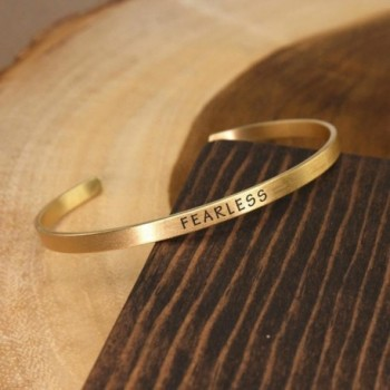 Personalized Engraved Customized inspirational BBR288 in Women's Bangle Bracelets