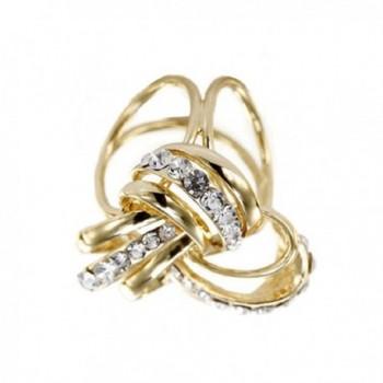 OBONNIE Ladies Crystal Buckle Jewelry