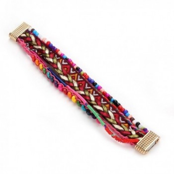 ARINLA Bracelet Handmade Multilayer Wristband