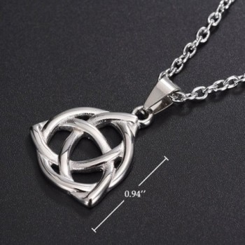 ALoveSoul Stainless Triquetra Trinity Necklace