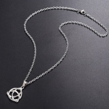 ALoveSoul Stainless Triquetra Trinity Necklace in Women's Pendants