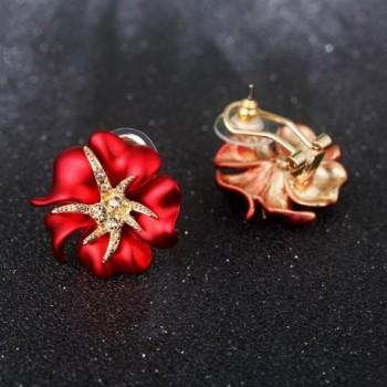 Carfeny Fashion Jewelry Plated Earrings in Women's Stud Earrings