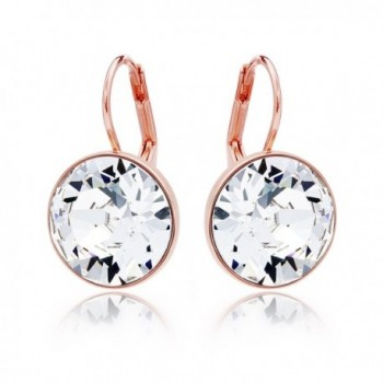 Statement Earrings Swarovski Crystal Plated