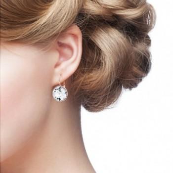 Statement Earrings Swarovski Crystal Plated in Women's Drop & Dangle Earrings