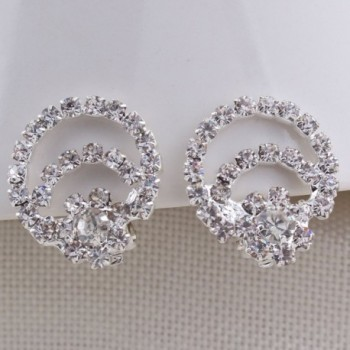 Crystal Earrings Wedding Jewelry Accessories