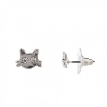 Lux Accessories Whiskers Crystal Rhinestone