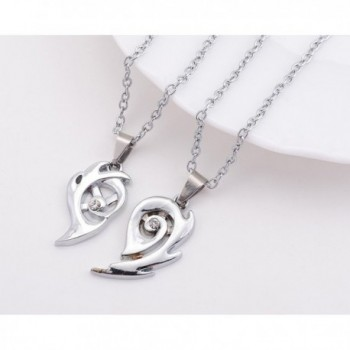THOBAL pendant relationship necklace couples in Women's Pendants
