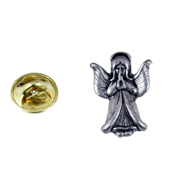 6030540 Guardian Angel Lapel Pin Brooch Faith Statement Watching Over You Praying - C411YQULYTD