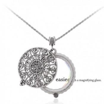 Necklace Reading Magnifying Pendant Byzantine