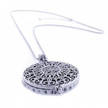 Necklace Reading Magnifying Pendant Byzantine in Women's Chain Necklaces