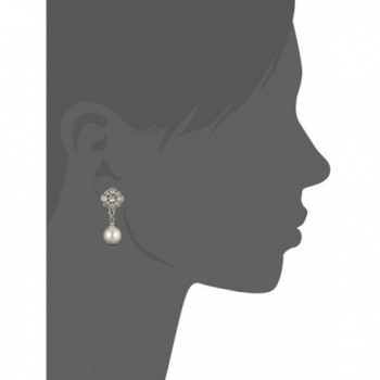 1928 Bridal Amore Simulated Earrings