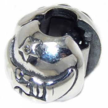 Solid Sterling Silver Ball Charm