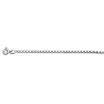 """Sterling Silver Chain Anklet 10"""" Length - CE11PJEHVQZ"""