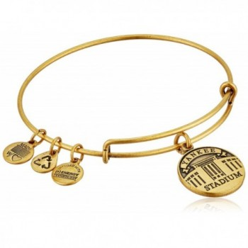 Alex and Ani Yankee Stadium Expandable Bangle Bracelet - Rafaelian Gold - C911JVXKR43