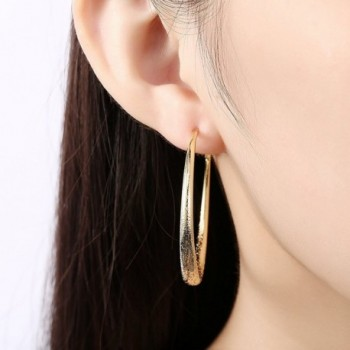 Eternity J Plated Earrings Diameter