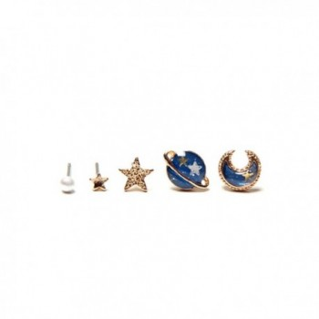 Nuwastone womens Planet Earring earing