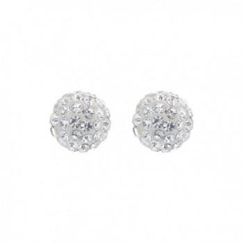 Gem Avenue Sterling Crystal Earrings