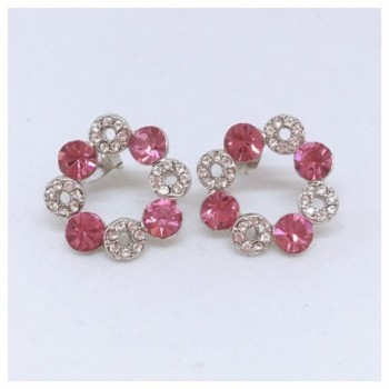 JNA Collection Swarovski Valentines Christmas in Women's Stud Earrings