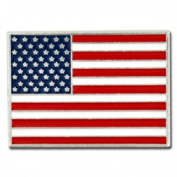 PinMart's Made in USA Rectangle American Flag Lapel Pin - C7119PEO8ZH