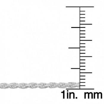 Sterling Silver 1 9mm Diamond Cut Bracelet in Women's Link Bracelets