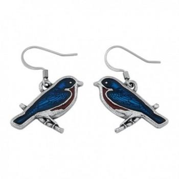 Danforth - Bluebird Wire Earrings - C811C995W0F