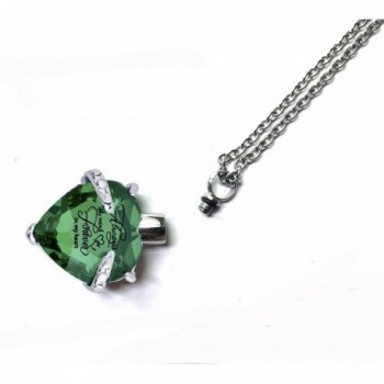 Cremation Necklace Jewelry Memorial Pendant in Women's Pendants