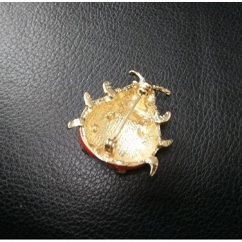 NOUMANDA Lovely Enamel Ladybug Brooch in Women's Brooches & Pins