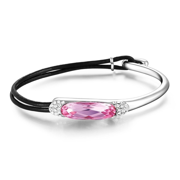 Mondaynoon Swarovski Stainless Bracelet Rope Gift - CQ128X3T7DX