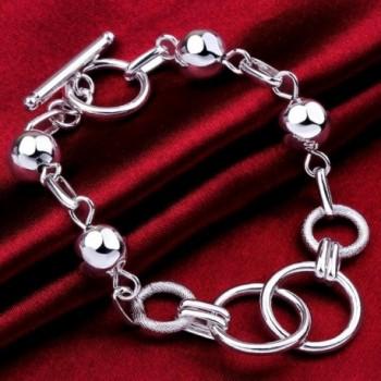 lureme Jewelry Geometry Bracelets 06002775 in Women's Link Bracelets