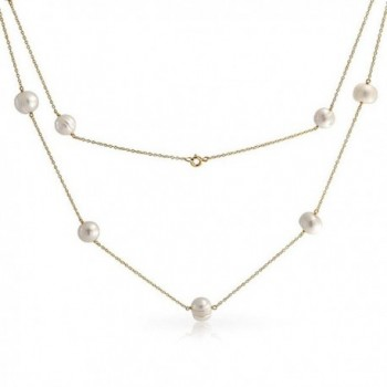 Bling Jewelry Freshwater Cultured Necklace in Women's Strand Necklaces