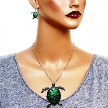 DianaL Boutique Colorful Necklace Earrings