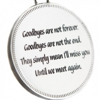 Until Pendant Goodbyes Forever Necklace