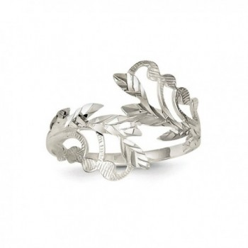 ICE CARATS Sterling Silver Jewelry in Women's Band Rings