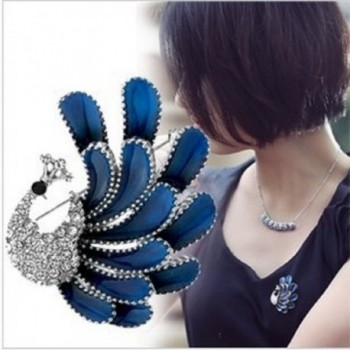 Top Cheer Rhinestone Brooches Pins 2pcs in Women's Brooches & Pins