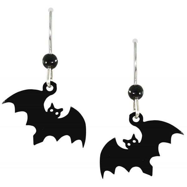 Sienna Sky Scary Halloween Bat Earrings 1348 - C011DXF9C8R