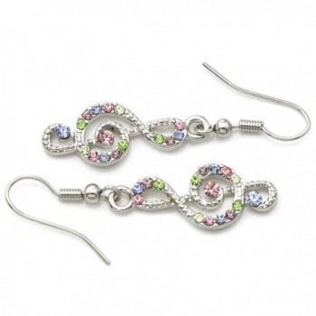 Colorful Earrings Multicolor Rhinestones Fashion in Women's Drop & Dangle Earrings