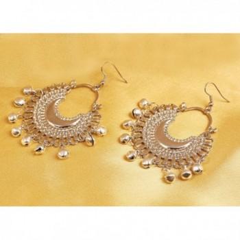 Touchstone Bohemian Jewelry Afghani Designer Chandelier in Women's Drop & Dangle Earrings