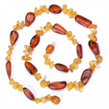 Stylish handmade Baltic Amber Necklace - C111WMIPWU3