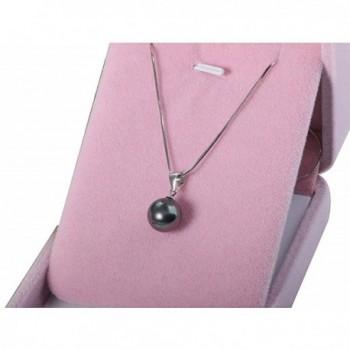 White Pendant Necklace Sterling Silver in Women's Pendants