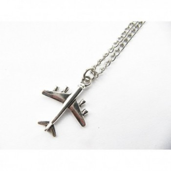 Airplane Necklace Inspired Necklace plane Traveler